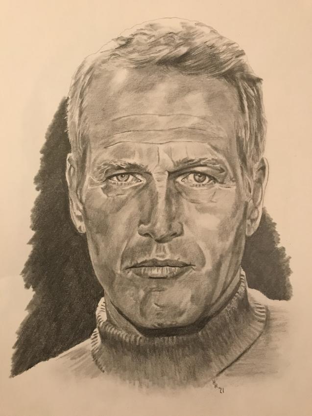 Paul Newman por Luludanvers